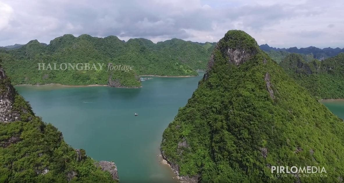 Flycam VỊnh Hạ Long